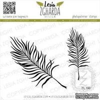 Набор акриловых штампов Lesia Zgharda Пальмове листя FL190, 2 шт