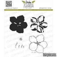 Набор акриловых штампов Lesia Zgharda Цвіт вишні великий FL193