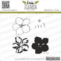Набор акриловых штампов Lesia Zgharda Цвіт вишні малий FL194