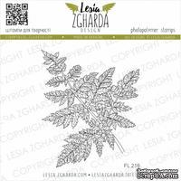 Акриловый штамп Lesia Zgharda Папороть FL216