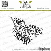 Акриловый штамп Lesia Zgharda Гілка сосни FL221
