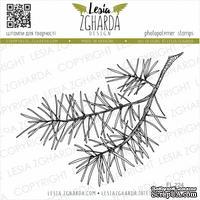 Акриловый штамп Lesia Zgharda Гілка сосни велика FL224