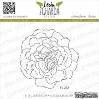 Акриловый штамп Lesia Zgharda Зворушлива троянда FL232