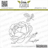 Набор акриловых штампов Lesia Zgharda Зворушлива троянда FL233