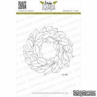 Акриловый штамп Lesia Zgharda Вінок з листя магнолії FL234