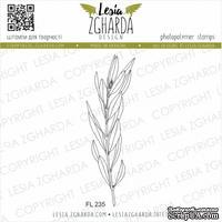 Акриловый штамп Lesia Zgharda Оливкова гілочка (мала) FL235