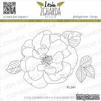 Набор акриловых штампов Lesia Zgharda Чарівна троянда FL241