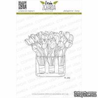 Акриловый штамп Lesia Zgharda Букети тюльпанів FL242