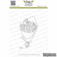 Акриловый штамп Lesia Zgharda Букет тюльпанів FL243