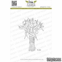 Акриловый штамп Lesia Zgharda Романтичний букет тюльпанів FL244