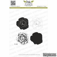 Набор акриловых штампов Lesia Zgharda Пишна троянда FL246