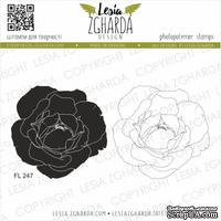 Набор акриловых штампов Lesia Zgharda Пишна троянда FL247