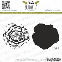 Набор акриловых штампов Lesia Zgharda Пишна троянда FL248