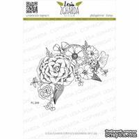 Акриловый штамп Lesia Zgharda Композиція з квітів FL249