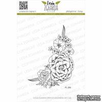 Акриловый штамп Lesia Zgharda Композиція з квітів (кутова) FL250