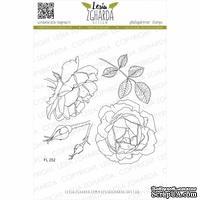 Набор акриловых штампов Lesia Zgharda Зворушлива троянда FL252