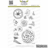 Набор акриловых штампов Lesia Zgharda Квіти FL253