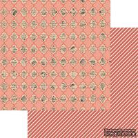 Лист скрапбумаги My Mind's Eye - Labeled, 30х30 см, двусторонняя