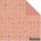 Двусторонний лист бумаги от My Mind's Eye - Labeled, 30,5x30,5см - ScrapUA.com