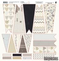 Высечки Fancy Pants - Country Boutique Banner Die Cuts, размер 30х30 см.
