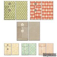 Набор конвертов Fancy Pants - Happy-go-lucky Patterned Envelopes