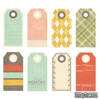 Тэги Fancy Pants - Happy-go-lucky Small Decorative Tags - ScrapUA.com