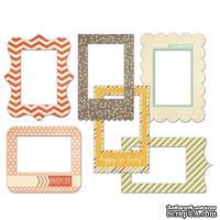 Набор рамок для фото Fancy Pants - Happy-go-lucky Patterned Photo Frames