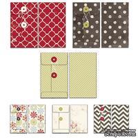 Набор конвертов Fancy Pants - Merry little Christmas Patterned Envelopes