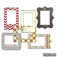 Набор рамок для фото Fancy Pants - Merry little Christmas Patterned Photo Frames
