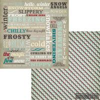 Лист двусторонней скрапбумаги Fancy Pants - Timbergrove Elements Paper, 30х30 см