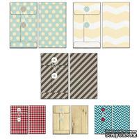 Набор конвертов Fancy Pants - Timbergrove Patterned Envelopes