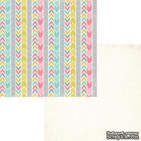 Лист двусторонней скрапбумаги Fancy Pants - Be.Loved Amorous Paper, 30х30 см
