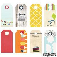 Набор тэгов Fancy Pants - Nautical Small Decorative Tags - ScrapUA.com