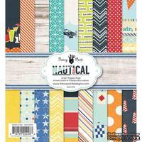 Набор бумаги Fancy Pants - Nautical Paper Pad, размер 15х15 см