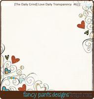 Оверлей (прозрачный лист с рисунком) Fancy Pants Love Daily