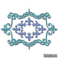 Лезвие Crafty Ann - Fleur De Lis Frame