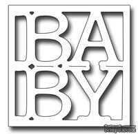 Лезвие Frantic Stamper Precision Die - BABY Word Square