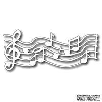 Лезвие Frantic Stamper - Cutting Die - Musical Score - Нотный стан