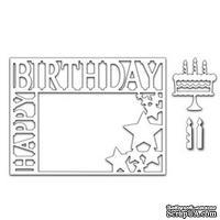 Лезвие Frantic Stamper - Cutting Die - Happy Birthday Frame