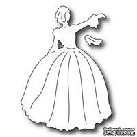 Лезвие Frantic Stamper - Cutting Die - Princess and Shoe - Принцесса и туфелька