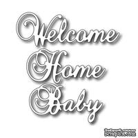 Лезвие Frantic Stamper - Cutting Die - Welcome Home Baby