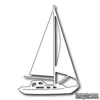 Лезвие Frantic Stamper - Precision Die - Sail Boat - Парусник