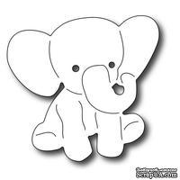 Лезвие Frantic Stamper - Precision Die - Baby Elephant - Слоник