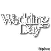 Лезвие Frantic Stamper - Precision Die - Wedding Day Words