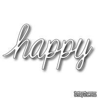Лезвие Frantic Stamper - Precision Die - Script Happy