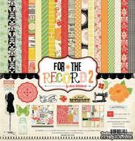 "Набор бумаги от Echo Park ""Tailored - Collection Kit For the Record 2"", 30x30, 12 листов"