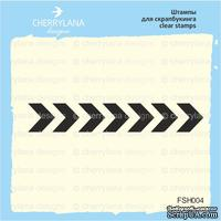 Штампы от Cherrylana - Шеврон, 5,5х0,9 см