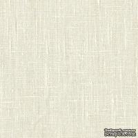 Ткань Лен натуральный кремовый, 45х70 см