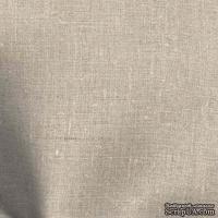 Ткань Лен натуральный серый, 45х70 см