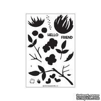 Набор штампов от Concord & 9th - Flourish stamp set